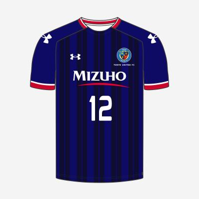 東京ユナイテッドFC(関東リーグ)2021年トレーニングマッチユニフォーム